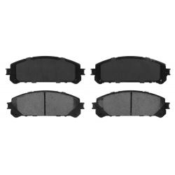 KLOCKI HAMULCOWE PRZÓD D1324 CENTRIC METALLIC (NX200t, NX300h, RX350, RX450h, Highlander, Sienna)