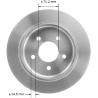 TARCZA HAMULCOWA TYLNA PRT5052 BENDIX PREMIUM (Ford Explorer, Mercury Mountaineer)