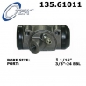 CYLINDEREK HAMULCOWY 135.61011 CENTRIC PARTS (Maverick, Mustang, Ranchero, Caliente, Comet)