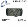 CYLINDEREK HAMULCOWY PRAWY TYŁ 135.61012 CENTRIC PARTS (Maverick, Mustang, Ranchero, Caliente, Comet)