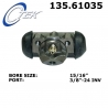 CYLINDEREK HAMULCOWY 135.61035 CENTRIC PARTS (Ram Van, Crown Victoria, Cotinental, Mark VI, Town Car, Marquis)