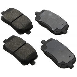 KLOCKI HAMULCOWE PRZÓD D923 CENTRIC METALLIC (Vibe, Corolla, Matrix)
