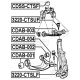 TULEJA WAHACZA PRZEDNIEGO DOLNEGO TYLNA CDAB-002 (CADILLAC CTS II, SRX, STS)