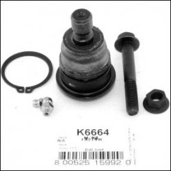 SWORZEŃ WAHACZA PRZEDNI DOLNY K6663 FALCON (Rainier, SSR, Trailblazer, Envoy, Ascender, Bravada, SAAB 9-7x)