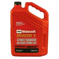 OLEJ AUTOMATYCZNEJ SKRZYNI BIEGÓW MERCON V 5QT MOTORCRAFT (Lincoln, Mercury, Ford)