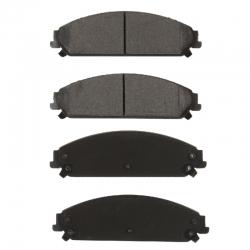KLOCKI HAMULCOWE PRZÓD D1058 CENTRIC METALLIC (300, Challenger, Charger, Magnum)