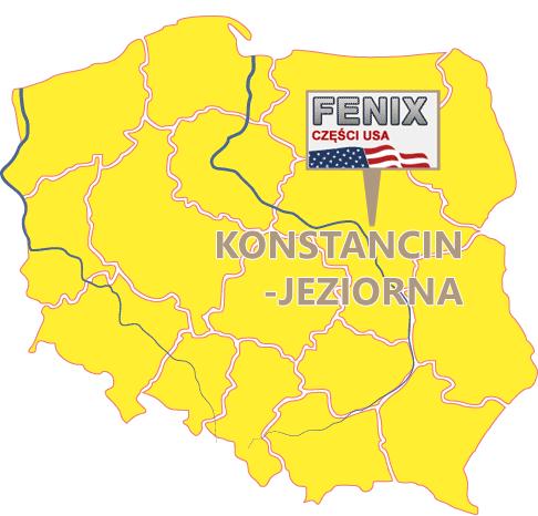 Części samochodowe Konstancin-Jeiorna