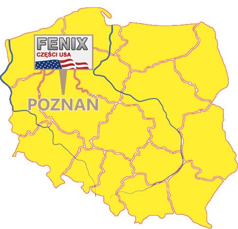Części amerykańskie Poznań