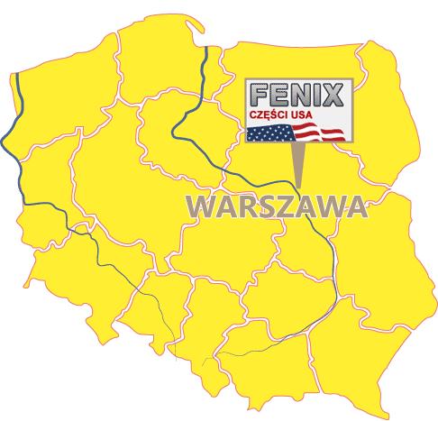 Amerykanskie czesci w Warszawie